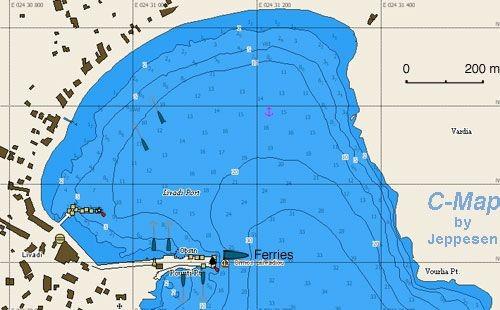 Греческие маршруты яхт. Остров Серифос