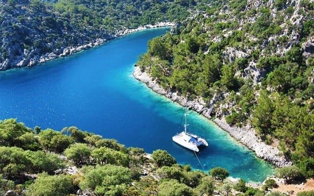 Аренда яхт в Турции