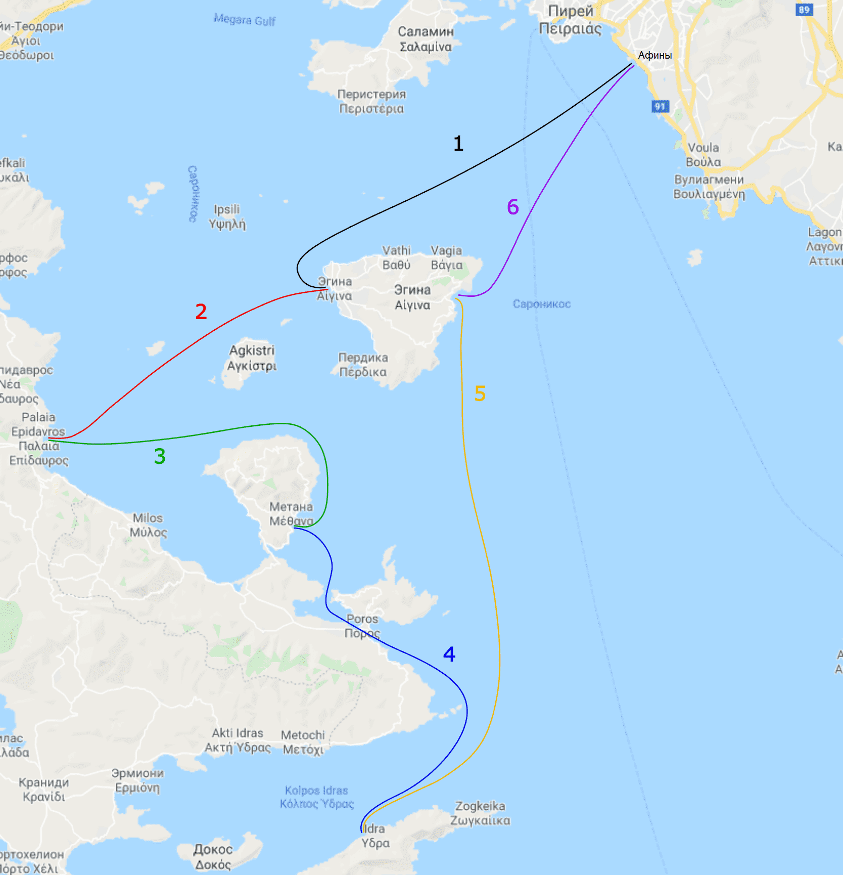 Саронический залив